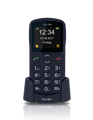 BEAFON TELEFONO Clam. 2 SIM LCD 2 BLUETOOTH BASE NERO